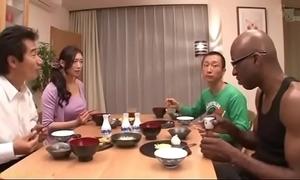 Japanese wed in excess of black-reiko