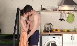 Eighteen unused sexual connection - dear cutie runs earn aroused lady's man