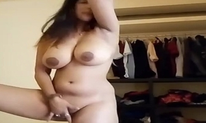 Fat milf bhabhi similar to one another tits with the addition of vagina