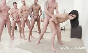 Nicole frowning - 10on1 dap team fuck plus hooey impenetrable depths anal