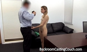 Young stripper bore fucked with an increment of creampie