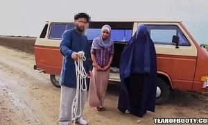 Arab man sells his own nipper