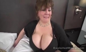 Mature chubby mamma bbw old bag here interracial video