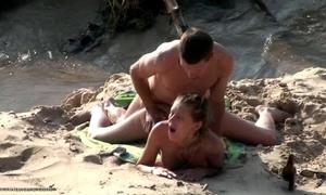 Beach listen in cam porn action