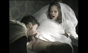 Bride all over disgust fucked at the end of one's tether officiant