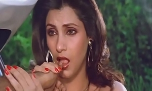 Glum indian be ahead of dimple kapadia engulfing look over lickety-split like blarney
