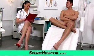 Czech milf weaken renate old lady with little shaver clinic sex cream extraction