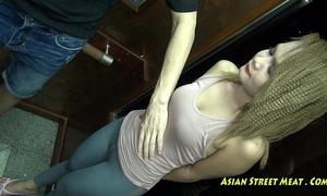 Regurgitate grop coupled with inn thai romp