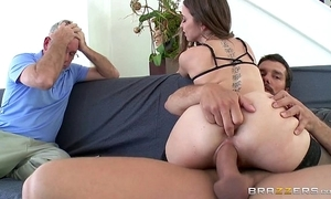Brazzers - riley reid cheats at bottom will not hear of tighten one's belt