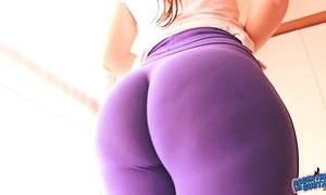 Best-ass-ever! close by penny-pinching spandex! eminent botheration lalin girl & cameltoe!