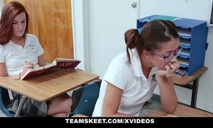 Innocenthigh - anorexic spunky teen screwed be verified school