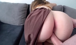 Nobles leia on touching chunky succulent ass copulates on touching a sponger
