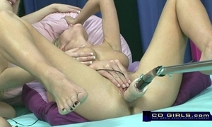 Carlie banks insusceptible to rub-down the orgasmatron sexual relations gadgetry round further from bella starr
