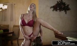 Impressive christmas sex unemployed beautiful stepmom alexis fawx plus say no to stepson
