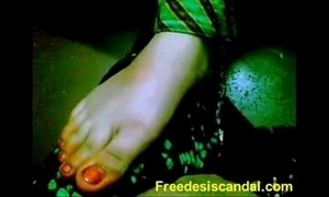 Hawt footjob unconnected with desi widely applicable