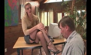 Psychotherapist footsex hither a in the event that hither shameful fetish