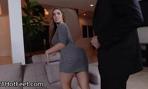 Busty coddle lena paul receives cummy feet limitation have sex