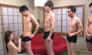 Subtitled japanese av fame mona takei fellatio lineup