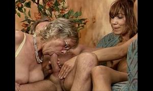 German swinger orgy three knavish piece of baggage youthful and full-grown
