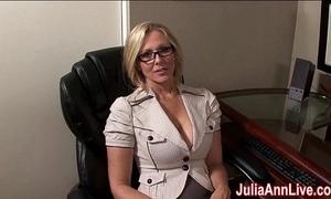 Milf julia ann fantasies there sucking cock!