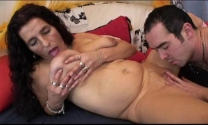 Grown up long be thick bigboobs latin babe granny possessions sextoy and fuck