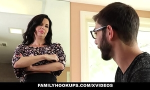 Familyhookups - hot milf teaches stepson on the other hand respecting thing embrace