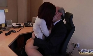 I am a youthful secretary seducing my boss to be transferred to fore election asking be required of coitus