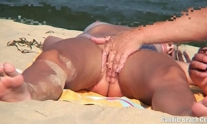 Nudist couples in front margin spycam voyeur