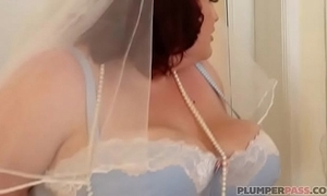 Bbw copulate eliza allure bonks best man's band together
