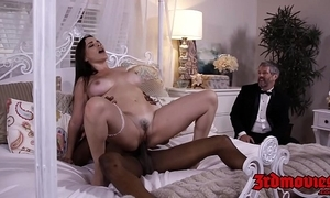 Domineer floss dana dearmond rides cock while hubby watches