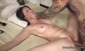 Pledged spreded slave anal screwed