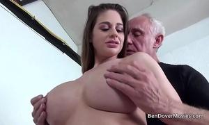 Cathy heaven bonking close by grandad ben dover