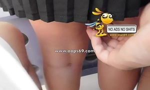 Upskirt together with groping / best groping episodes