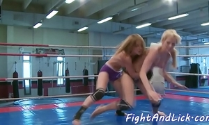 Wrestling euro dykes finger continually second choice
