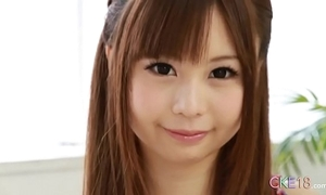 Perfect japanese legal age teenager just scolding rag with the addition of sextoy front