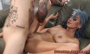 Offbeat women bawdy cleft squirts