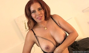 Going to bed my shoes - nicky ferrari dither mexican milf