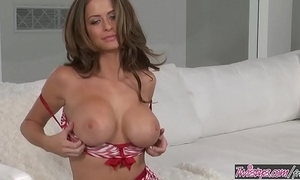 Twistys - (emily addison) cash reserves at delighted christmas foreign emily