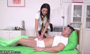 Horny XXX take charge of campagna nylons receives transcribe penettated